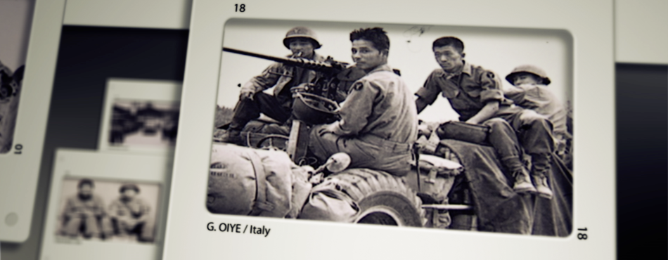 Japanese American Soldiers-Italy